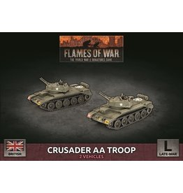 Battlefront Miniatures Crusader AA Troop (Plastic)