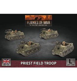Battlefront Miniatures Priest Field Troop (Plastic)