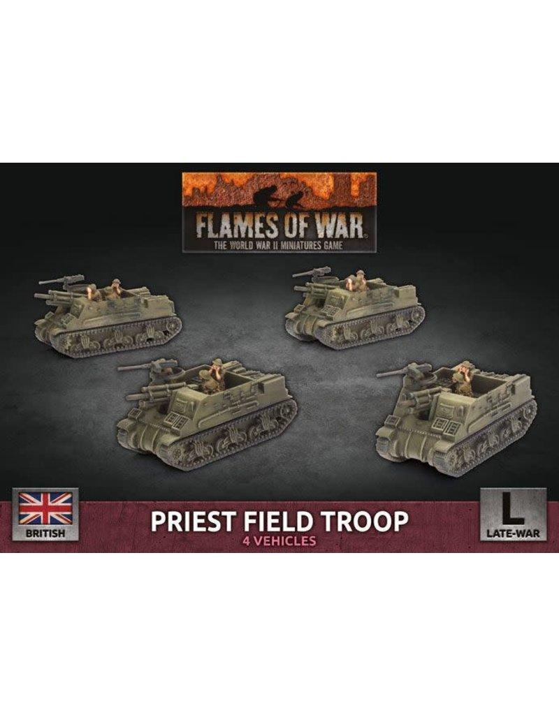 Battlefront Miniatures Priest Field Troop (BBX64)