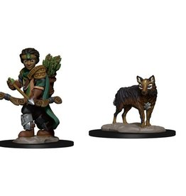 Boy Ranger with Wolf