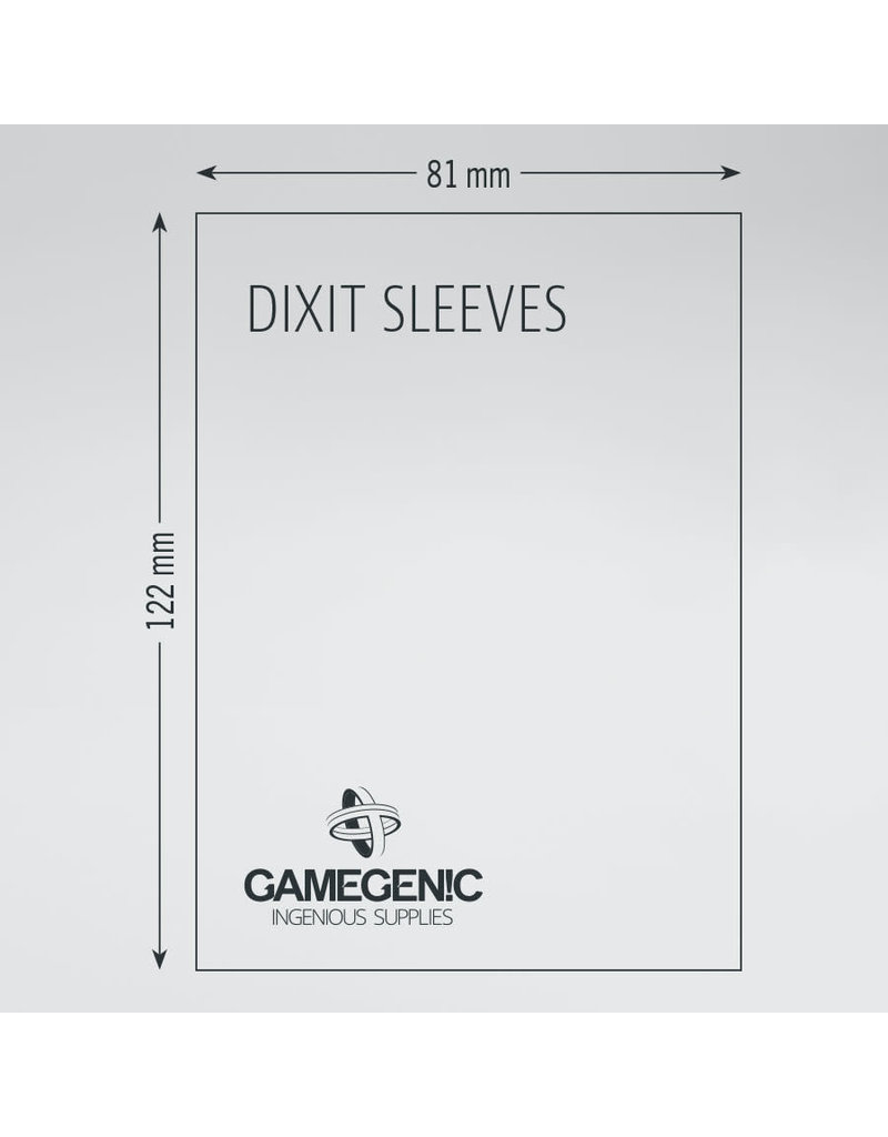 Asmodee Editions - Gamegenic Matte Sleeves: Dixit (81 x 122 mm)