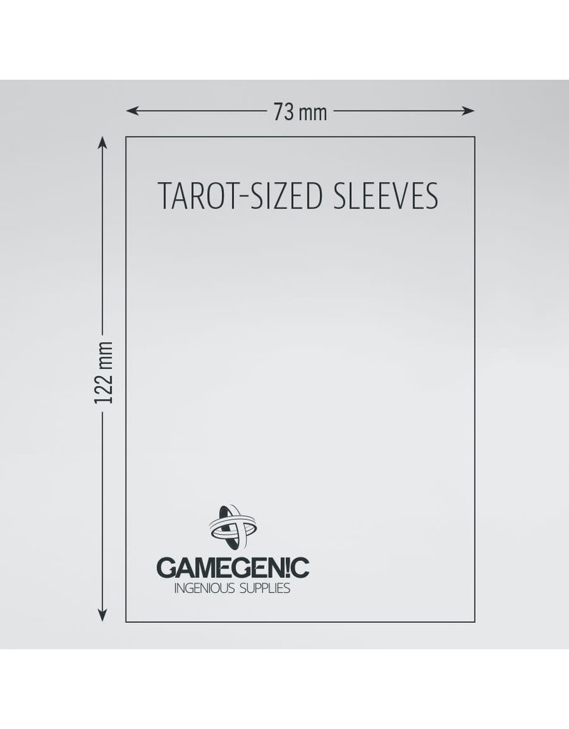 Asmodee Editions - Gamegenic Matte Sleeves: Tarot (73 x 122 mm)