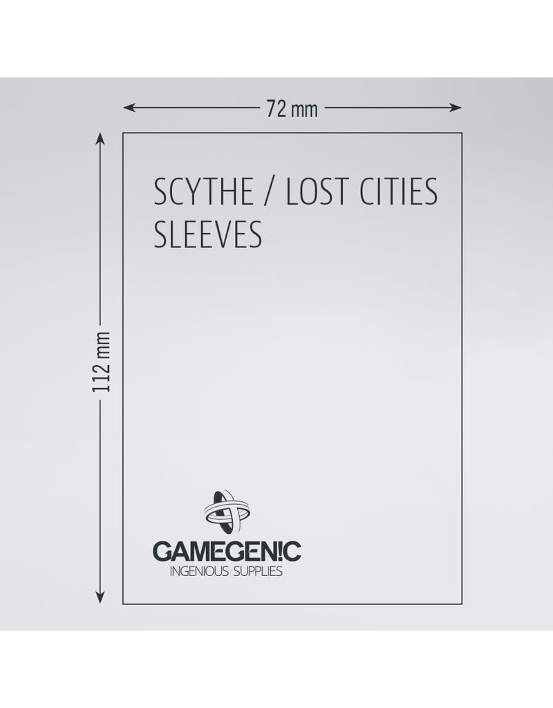 Asmodee Editions - Gamegenic Matte Sleeves: Scythe / Lost Cities (72 x 112 mm)