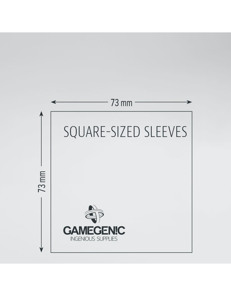 Asmodee Editions - Gamegenic Matte Sleeves: Square (73 x 73 mm)