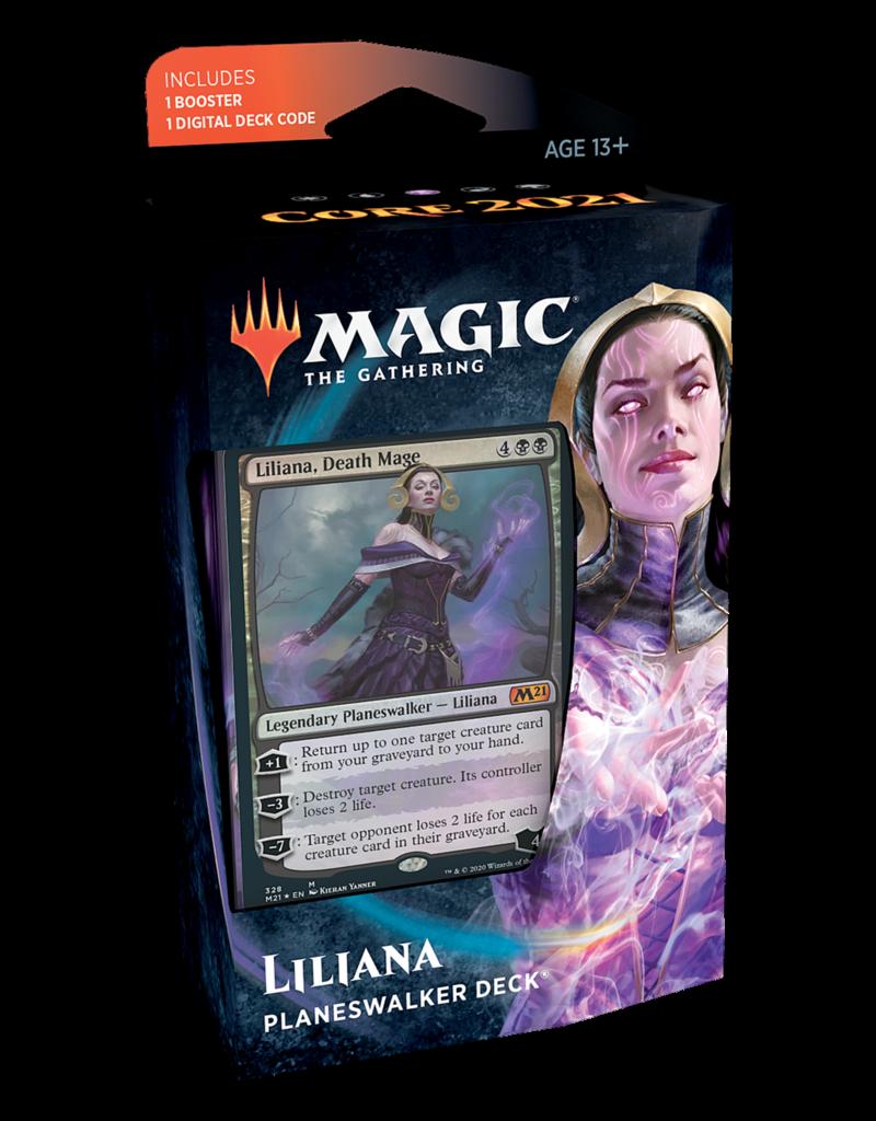 Wizards of the Coast Core 2021: Liliana Planeswalker Deck