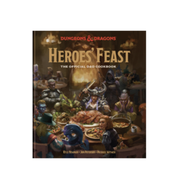 D&D: Heroes' Feast: The Official Dungeons & Dragons Cookbook (Hardcover)