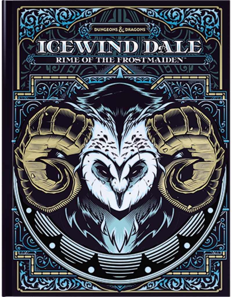Wizards of the Coast D&D: Icewind Dale: Rime of the Frostmaiden (Hobby Cover)