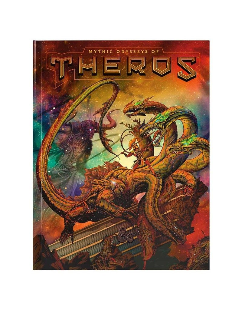 Wizards of the Coast D&D: Mythic Odysseys of Theros (Hobby Cover)