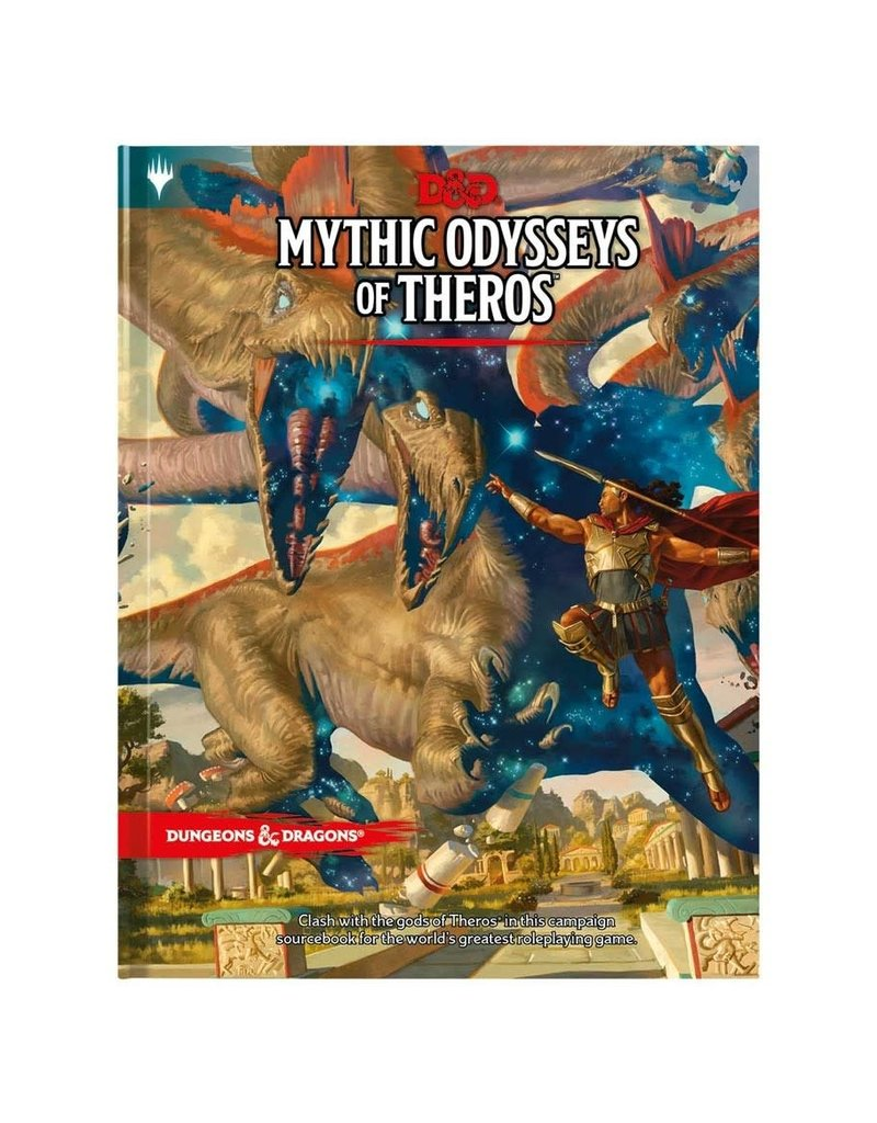 Wizards of the Coast D&D: Mythic Odysseys of Theros (Standard Cover)