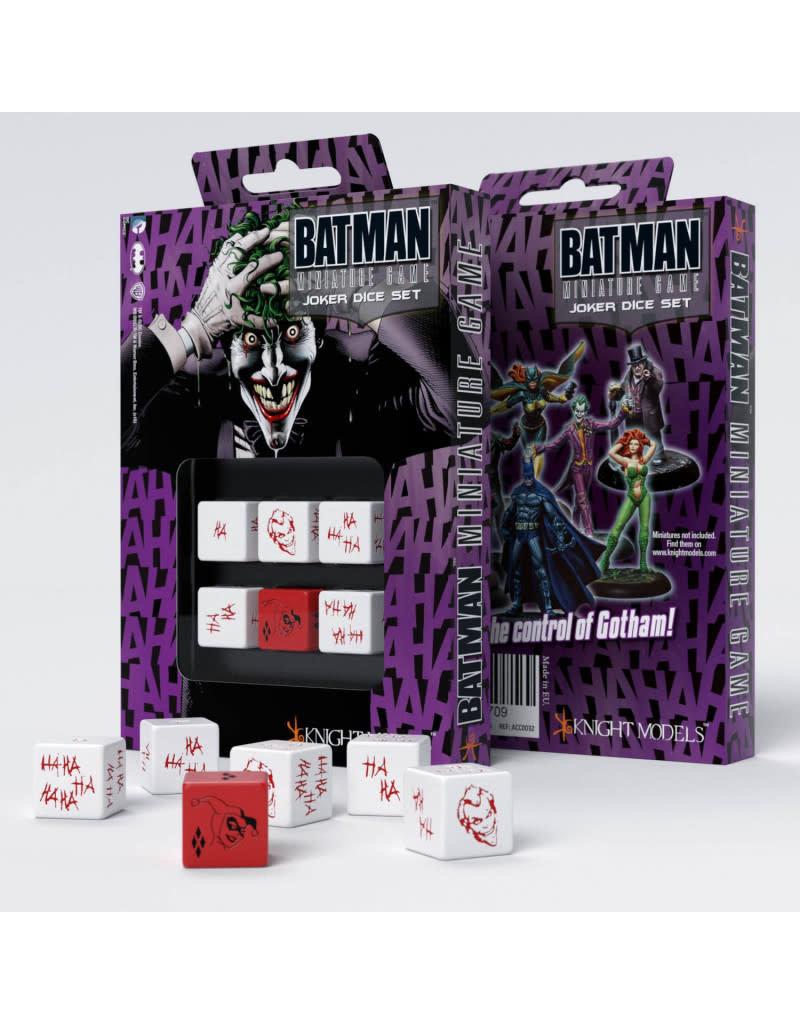Q-Workshop Batman Miniature Game: Joker Dice Set