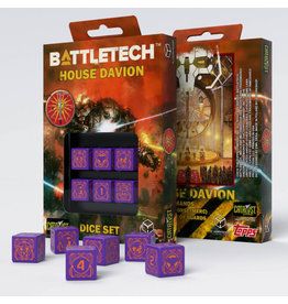 Battletech House Marik D6 Dice Set