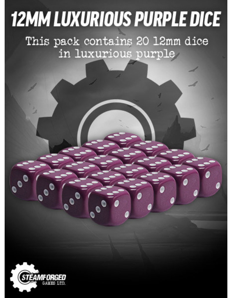 Steamforged Games 16mm Luxurious Purple Dice