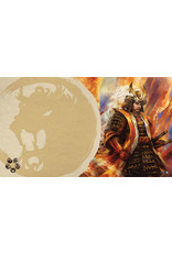Asmodee - Fantasy Flight Games Right Hand of the Emperor Playmat (Lion Clan L5R)