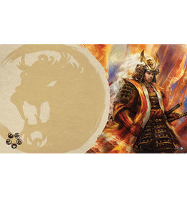Right Hand of the Emperor Playmat (Lion Clan L5R)