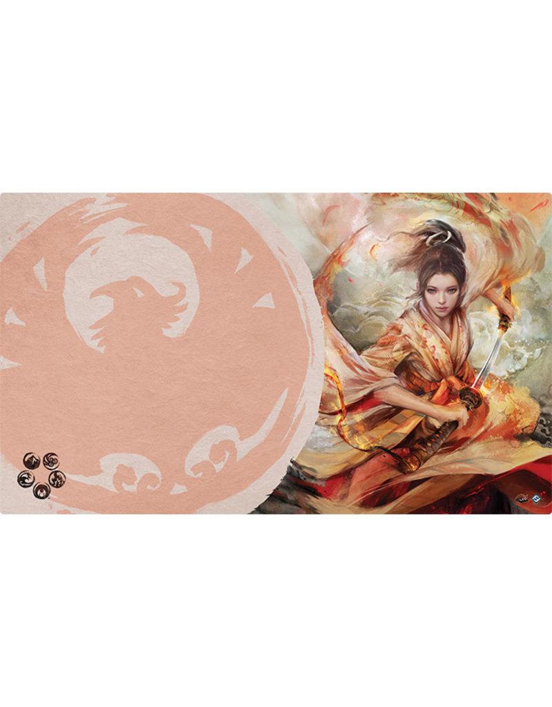 Asmodee - Fantasy Flight Games The Soul of Shiba Playmat (Phoenix Clan)