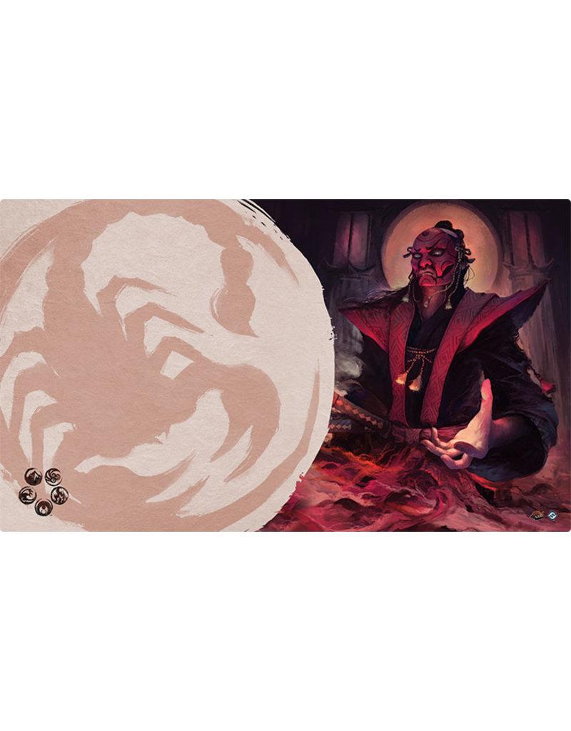 Asmodee - Fantasy Flight Games Master of Secrets Playmat (Scorpion Clan)