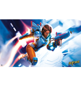 KeyForge: Tactical Officer Moon Playmat