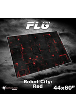 Frontline Gaming 4x6 Robot City: Red Mat
