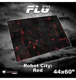 4x6 Robot City: Red Mat