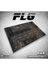 Frontline Gaming 4x6 Cyberpunk Mat