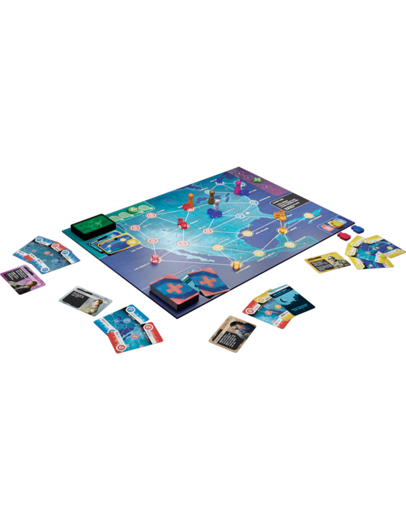 Asmodee - Z-Man Games Pandemic: Hot Zone - North America
