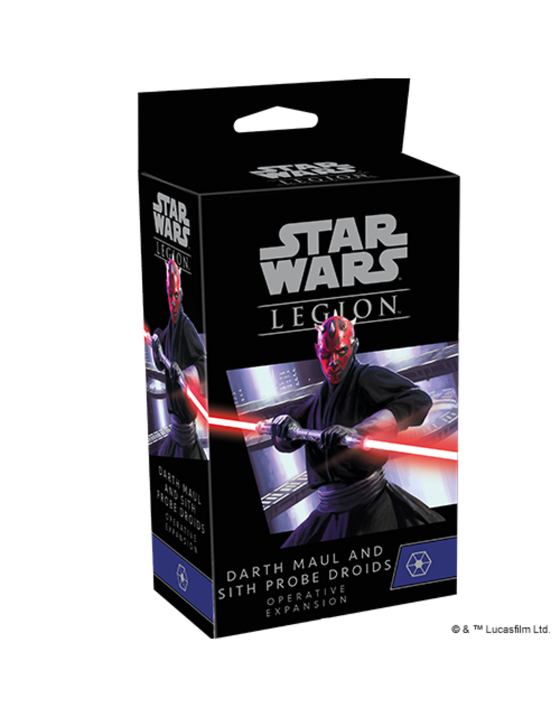 Asmodee - Fantasy Flight Games Legion: Darth Maul and Sith Probe Droids Expansion