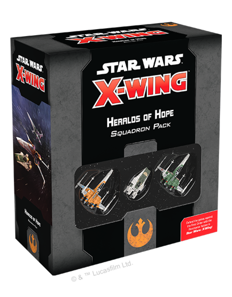 Asmodee - Fantasy Flight Games X-Wing 2.0: Heralds of Hope Squadron Pack