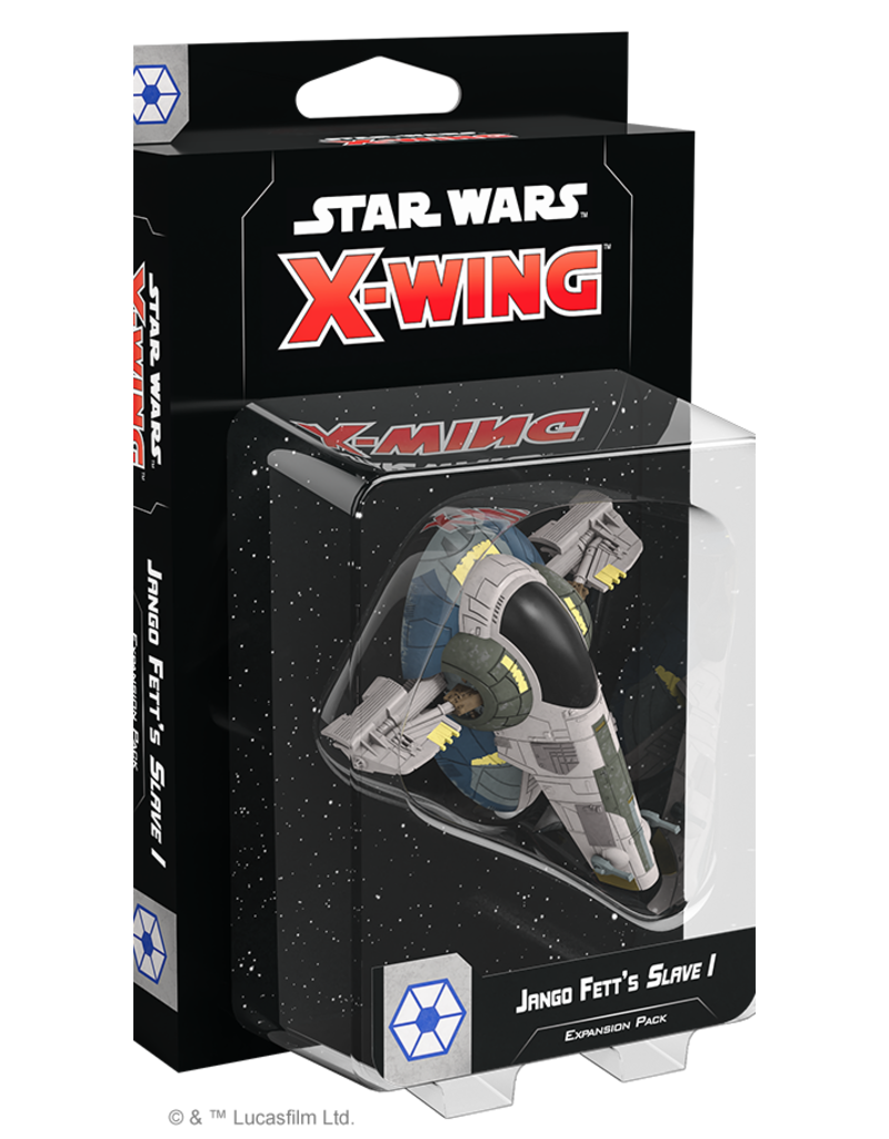 Asmodee - Fantasy Flight Games X-Wing 2.0: Jango Fett's Slave 1 Expansion Pack