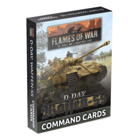 D-Day Waffen-SS Command Cards