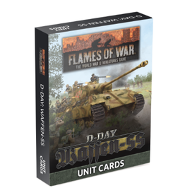 D-Day Waffen-SS Unit Cards