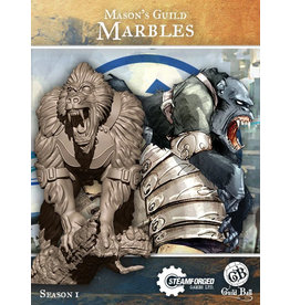 Guild Ball SI: Masons Guild - Marbles