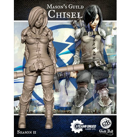 Guild Ball SII: Masons Guild - Chisel