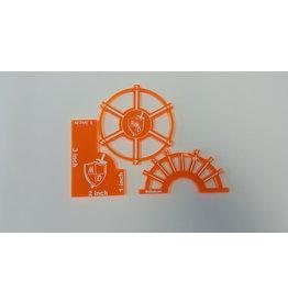 Guild Ball: Orange Template (MiniDuels)