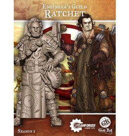 Guild Ball SI: Engineers Guild - Ratchet