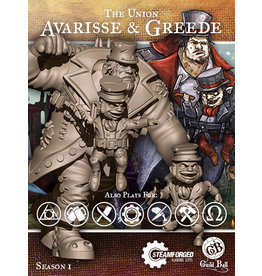 Guild Ball SI: Union - Avarisse and Greede