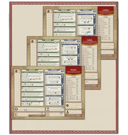 Rome & Roll: Character Boards