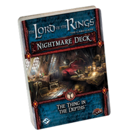 The Lord of the Rings LCG: Nightmare Deck - The Thing in the Depths