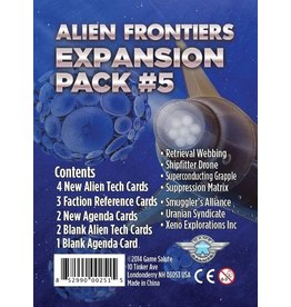 Alien Frontiers: Expansion Pack 5