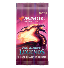 Commander Legends: Collector Booster Pack