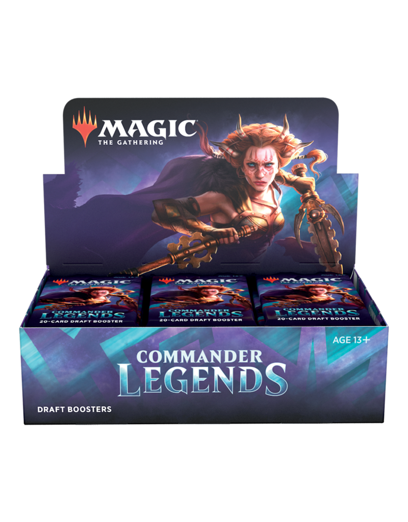 Wizards of the Coast Commander Legends: Draft Booster Box