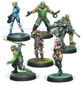 Infinity: Outrage Characters Pack