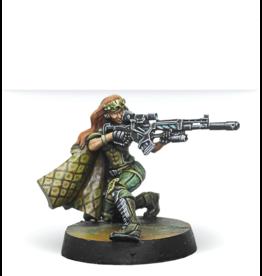 Infinity: Major Lunah, Ex-Aristeia! Sniper (Viral Sniper Rifle)