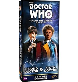 Dr. Who: Time of the Daleks: 2nd and 6th Doctor
