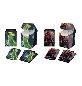 Zendikar Rising Deck Box and Sleeves -