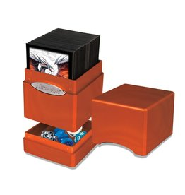 Satin Tower Deck Box Hi-Gloss - Pumpkin