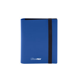 Eclipse 2 Pocket Binder - Solid Blue