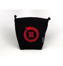 Large Reversible Microfiber Bag - Ouroboros