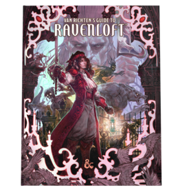 D&D: Van Richten's Guide to Ravenloft - Hobby Cover (Pre-Order)