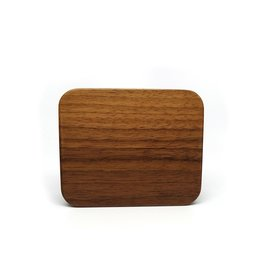 Black Walnut Wood Dice Case -