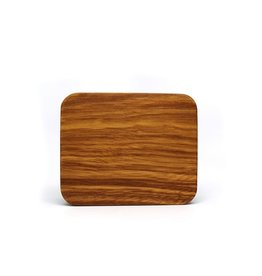 Zebra Wood Dice Case -